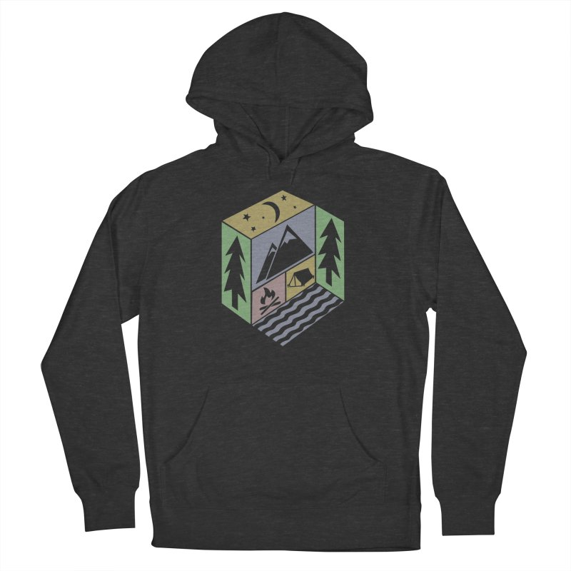 Capture the Outdoors Men's Pullover Hoody by Coffee Pine Studio