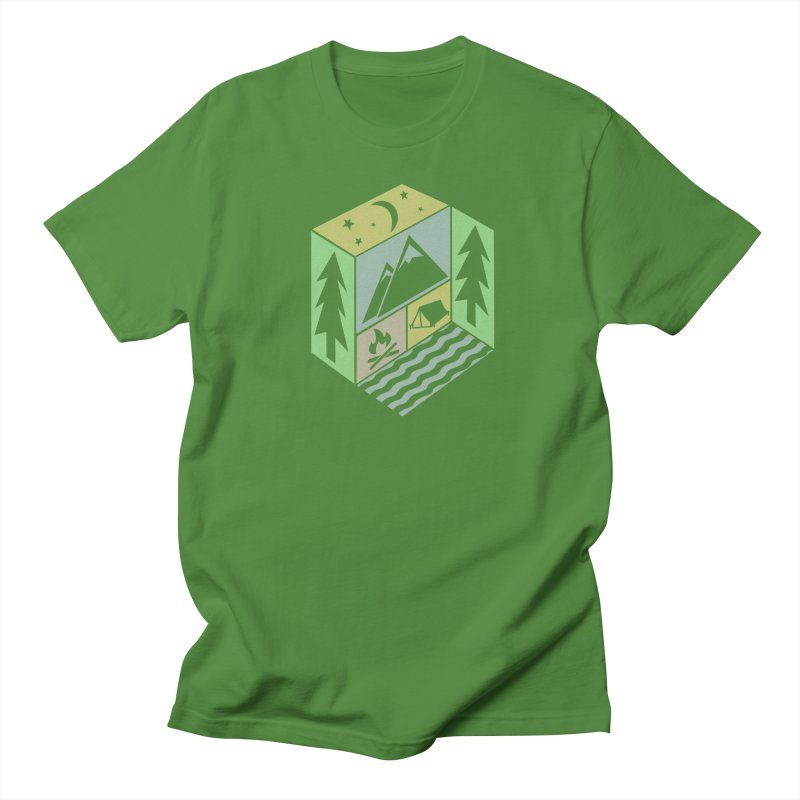 Capture the Outdoors Men's T-Shirt by Coffee Pine Studio