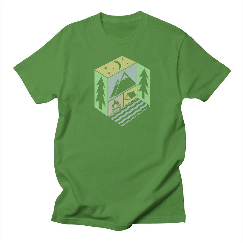 Capture the Outdoors Women's Regular Unisex T-Shirt by Coffee Pine Studio