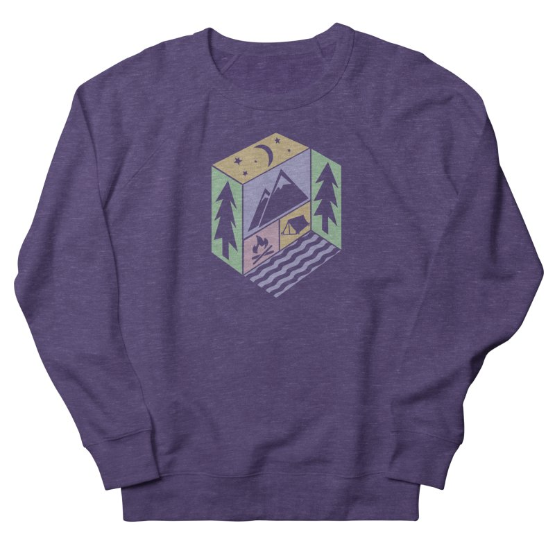 Capture the Outdoors Women's French Terry Sweatshirt by Coffee Pine Studio