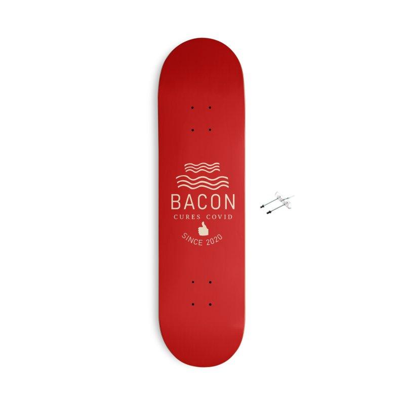 Covid Fact Accessories Skateboard by Coffee Pine Studio