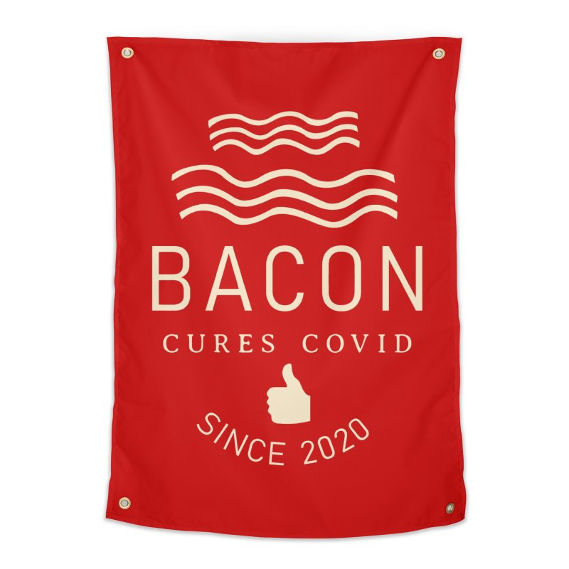 Covid Fact Home Tapestry by Coffee Pine Studio