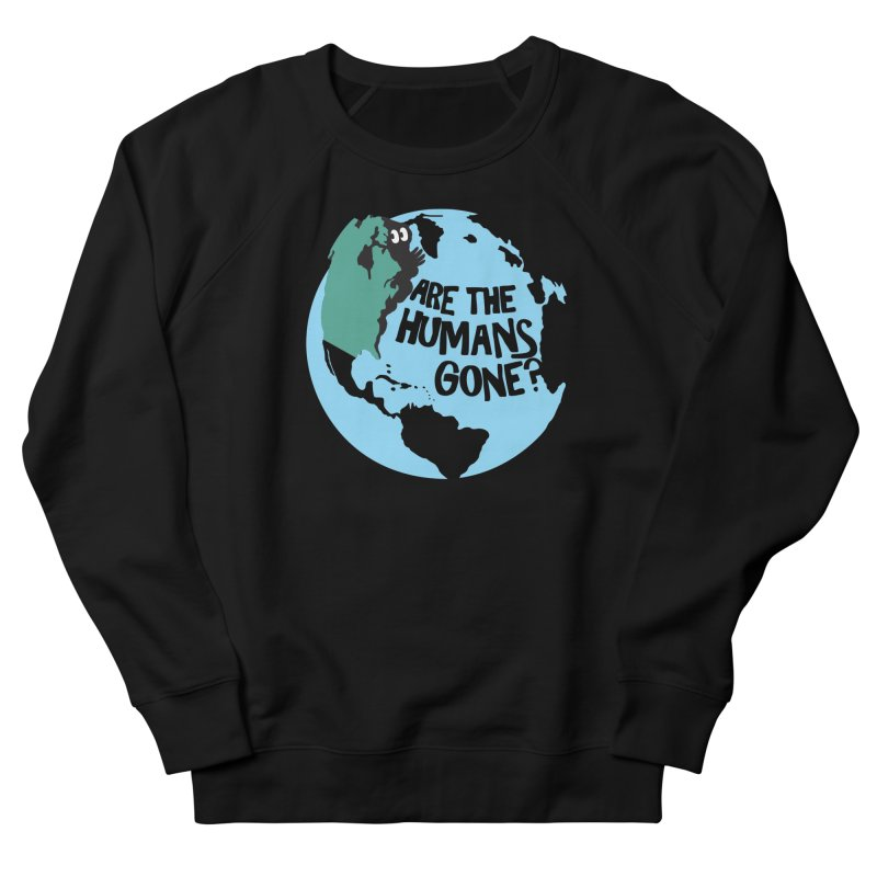 Is it safe? Men's French Terry Sweatshirt by Coffee Pine Studio