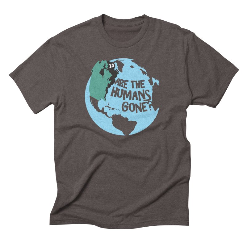 Is it safe? Men's Triblend T-Shirt by Coffee Pine Studio