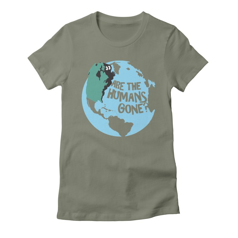 Is it safe? Women's Fitted T-Shirt by Coffee Pine Studio