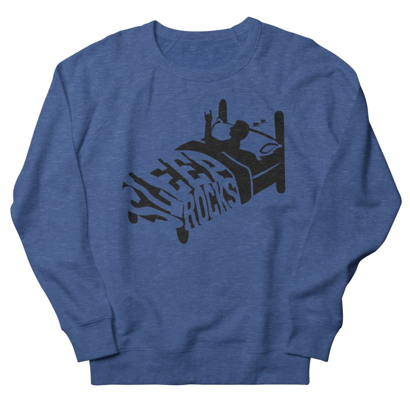 Sleep Rocks Women's Sweatshirt by Coffee Pine Studio