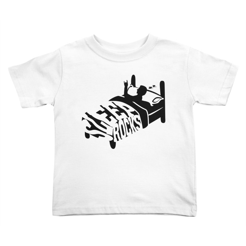 Sleep Rocks Kids Toddler T-Shirt by Coffee Pine Studio