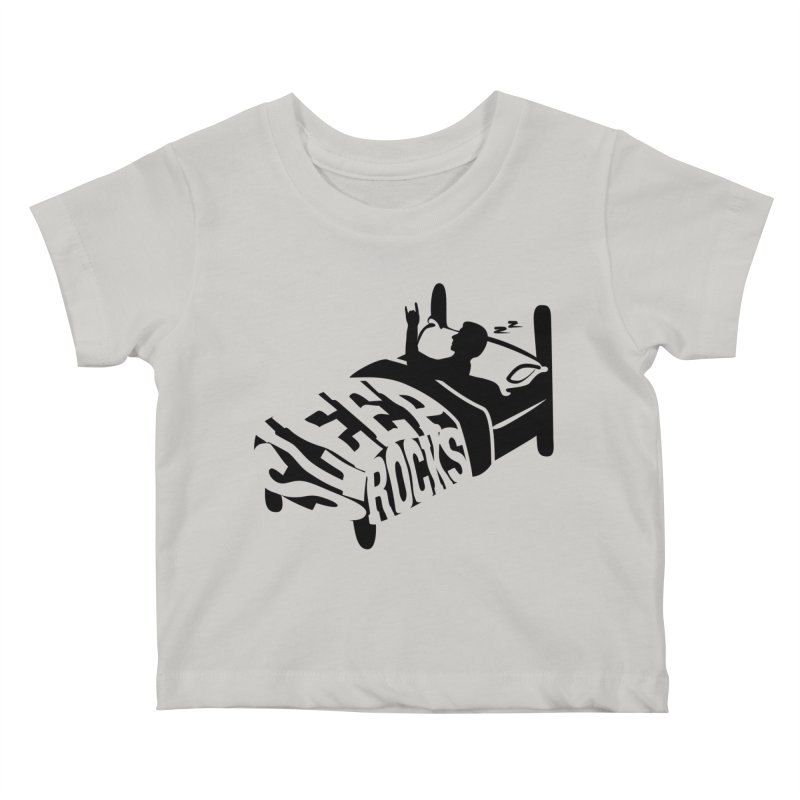 Sleep Rocks Kids Baby T-Shirt by Coffee Pine Studio