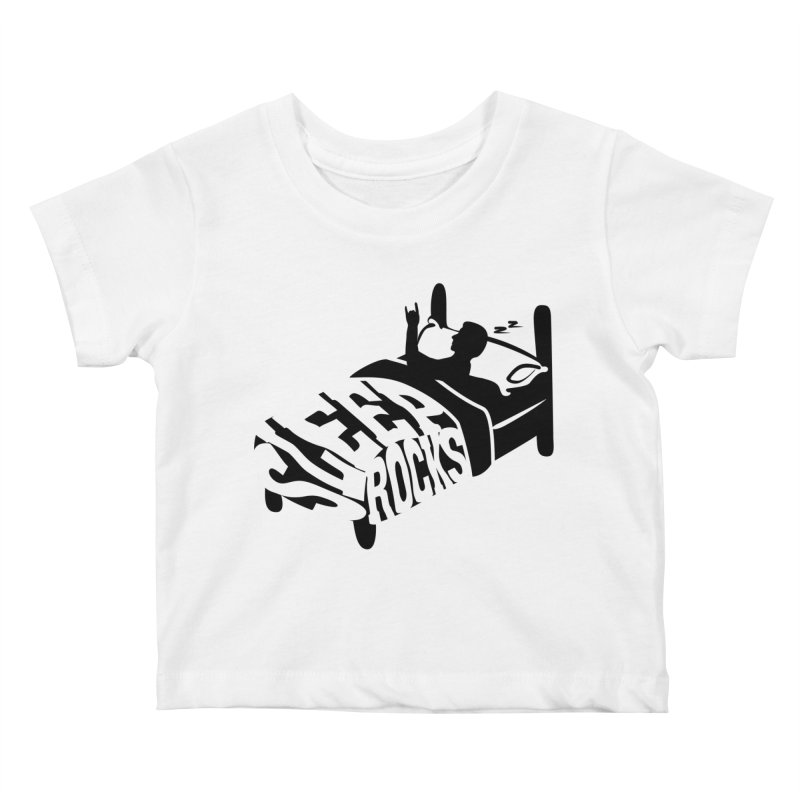 Sleep Rocks Kids Baby T-Shirt by Coffee Pine Studio