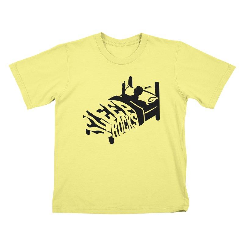 Sleep Rocks Kids T-shirt by Coffee Pine Studio