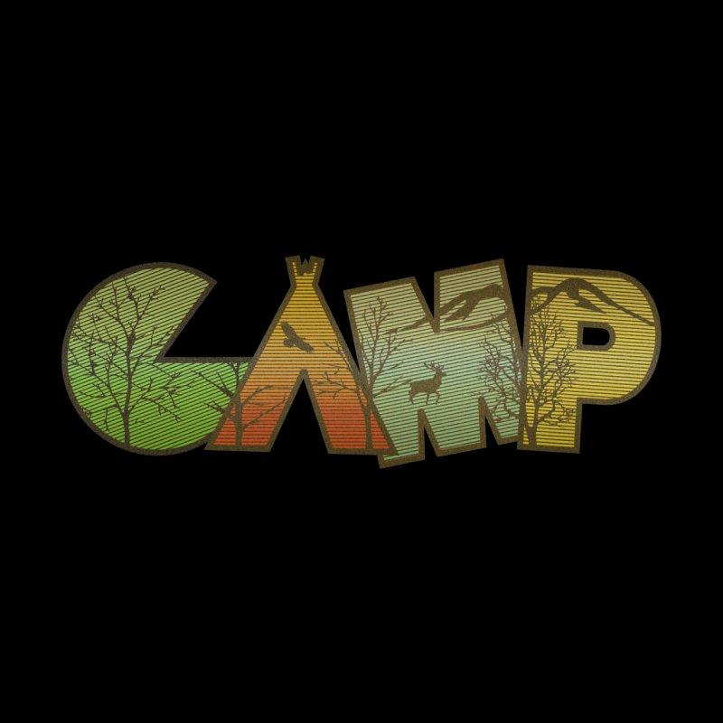 Camp Men's Sweatshirt by Coffee Pine Studio