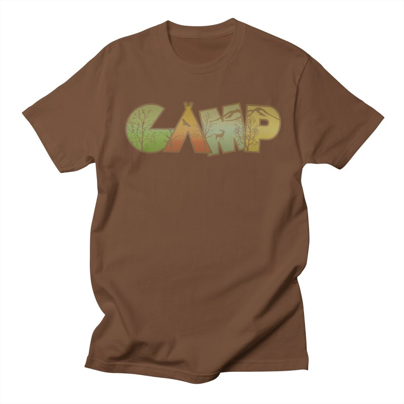 Camp Men's T-Shirt by Coffee Pine Studio