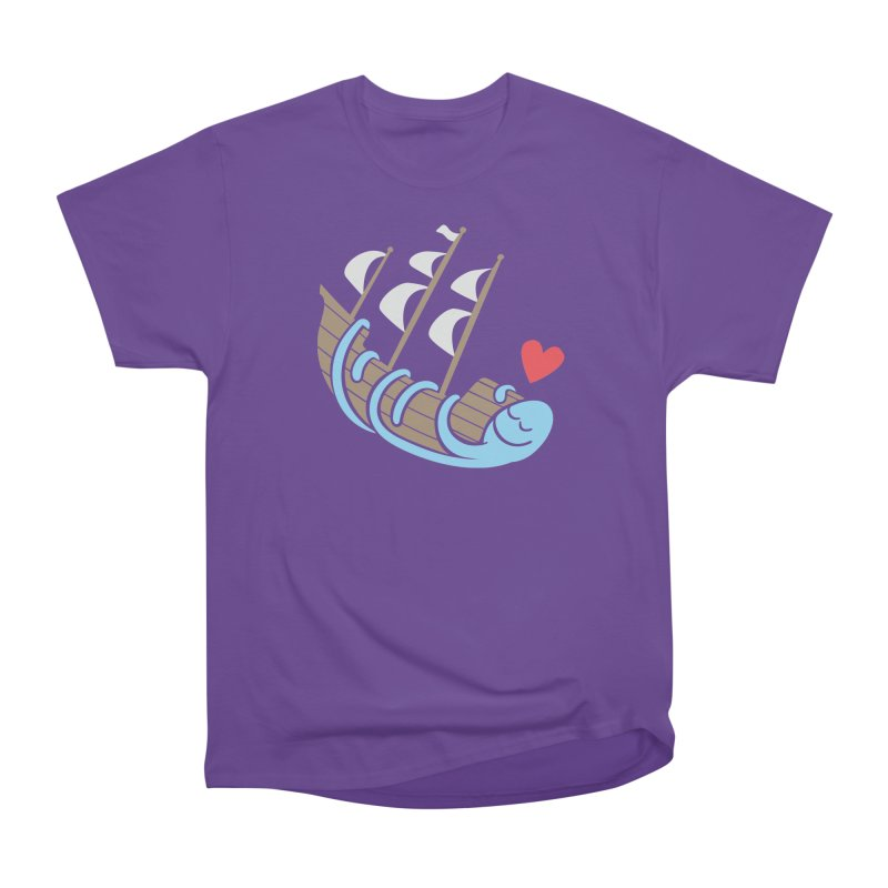 The Ship Loving Kraken Men's Classic T-Shirt by Coffee Pine Studio