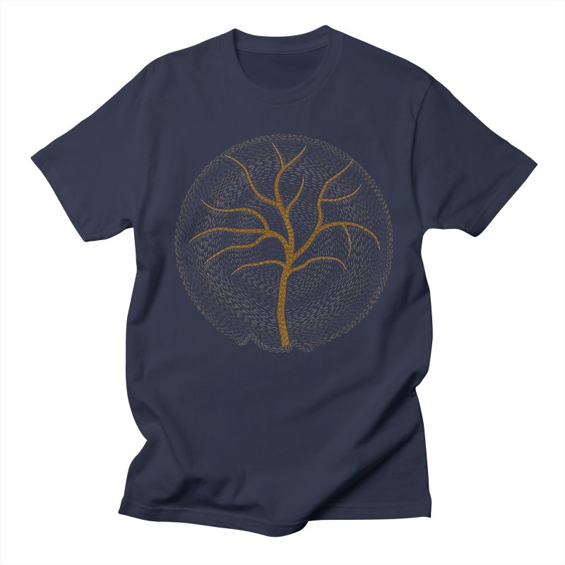 Tree of Life Men's T-shirt by Coffee Pine Studio