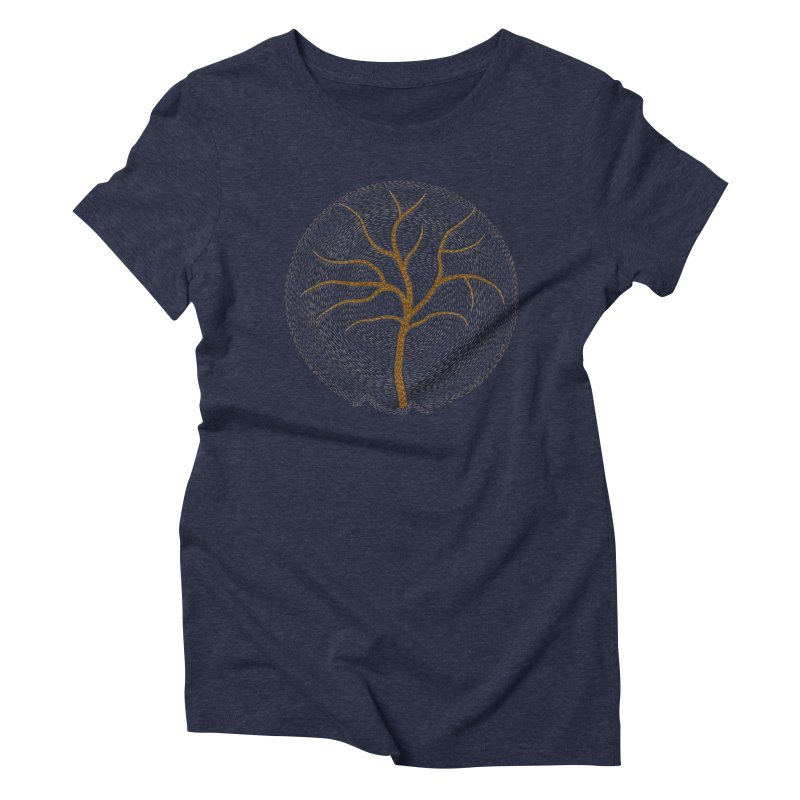 Tree of Life Women's Triblend T-Shirt by Coffee Pine Studio