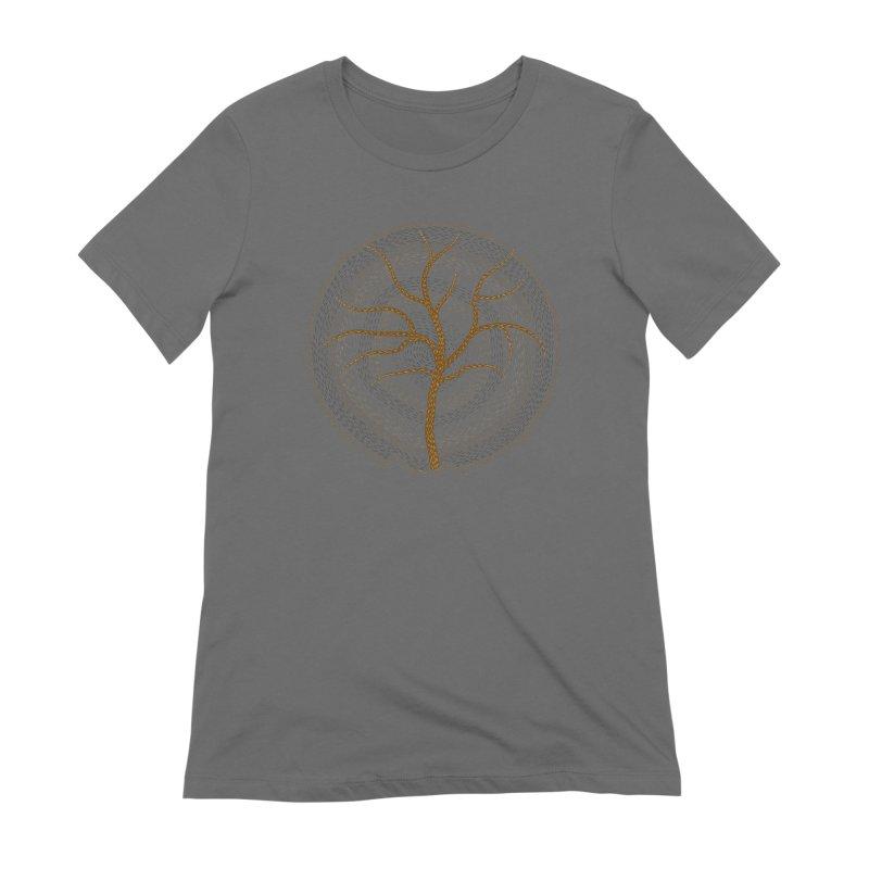 Tree of Life Women's Extra Soft T-Shirt by Coffee Pine Studio