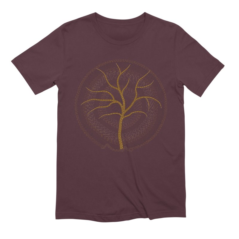 Tree of Life Men's Extra Soft T-Shirt by Coffee Pine Studio