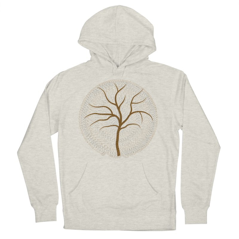Tree of Life Women's French Terry Pullover Hoody by Coffee Pine Studio