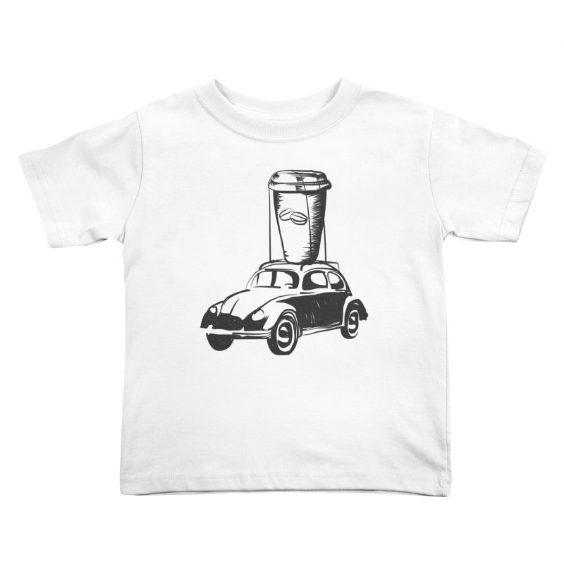 Coffee to Go Kids Toddler T-Shirt by Coffee Pine Studio
