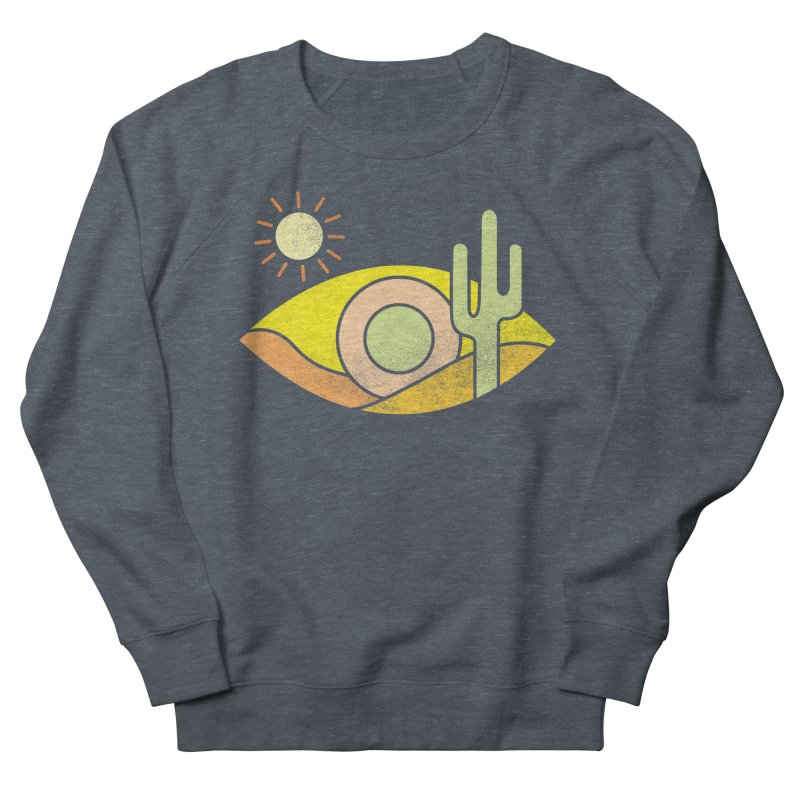Dry Eye Men's French Terry Sweatshirt by Coffee Pine Studio