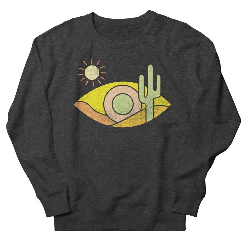 Dry Eye Men's French Terry Sweatshirt by Coffee Pine Studio