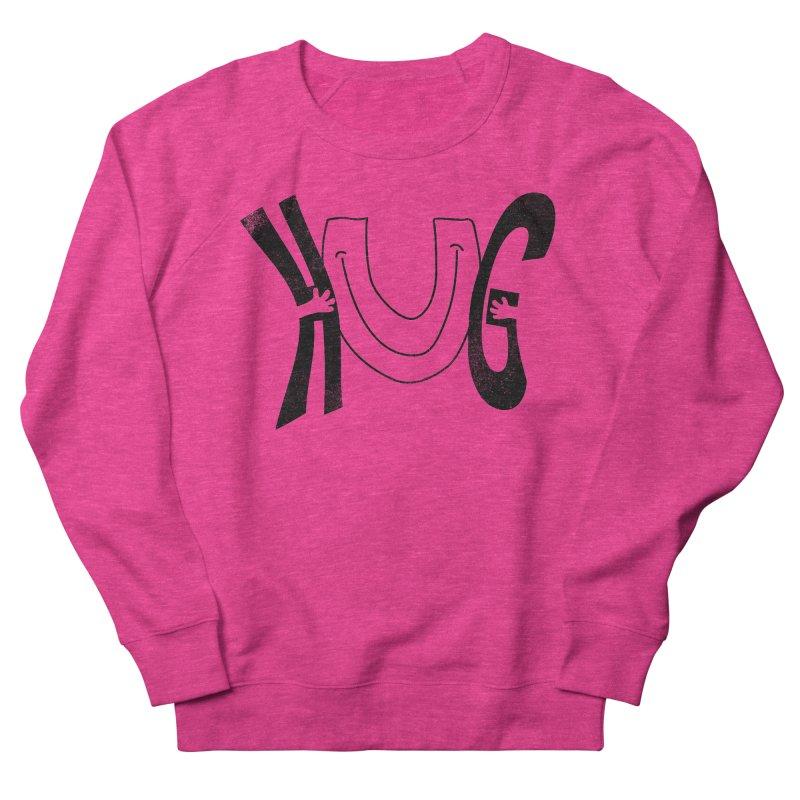 Hug U Men's French Terry Sweatshirt by Coffee Pine Studio