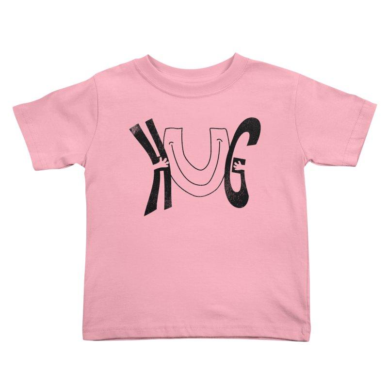Hug U Kids Toddler T-Shirt by Coffee Pine Studio