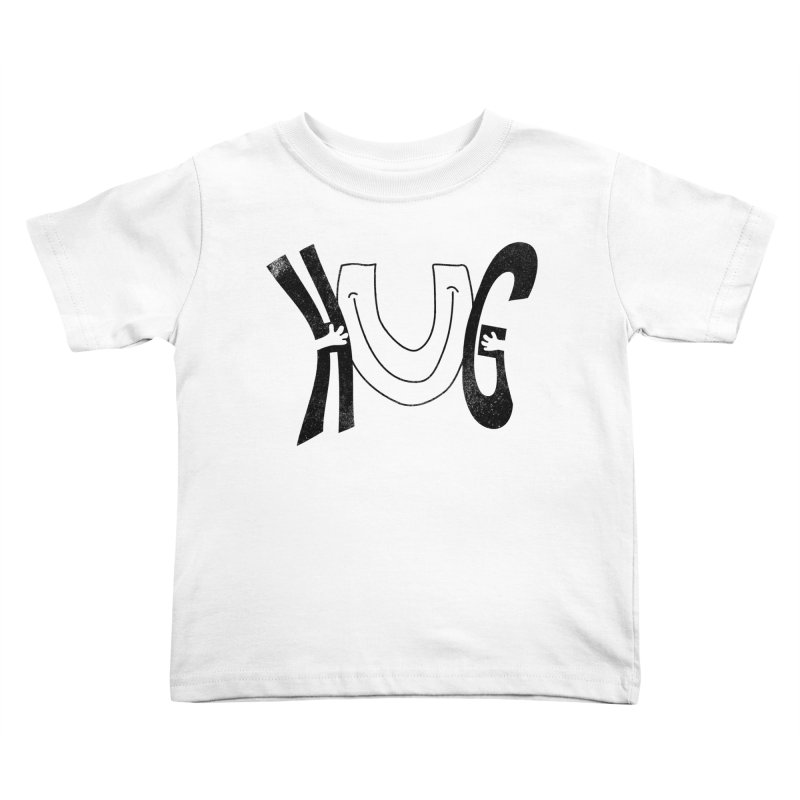 Hug U Kids Toddler T-Shirt by Coffee Pine Studio