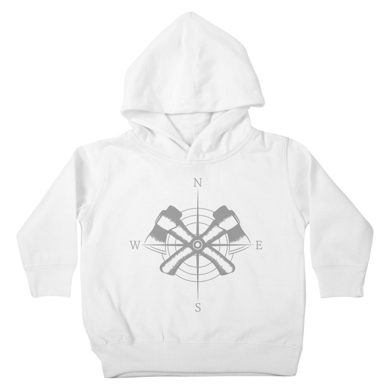 Compass Kids Toddler Pullover Hoody by Coffee Pine Studio