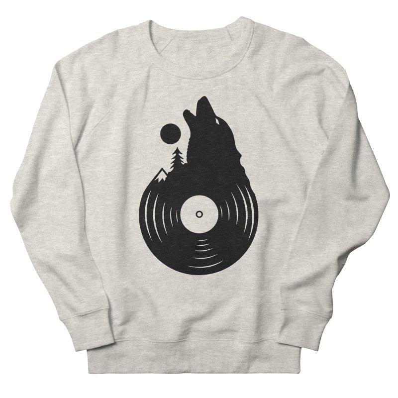 Nature on Vinyl Men's Sweatshirt by Coffee Pine Studio