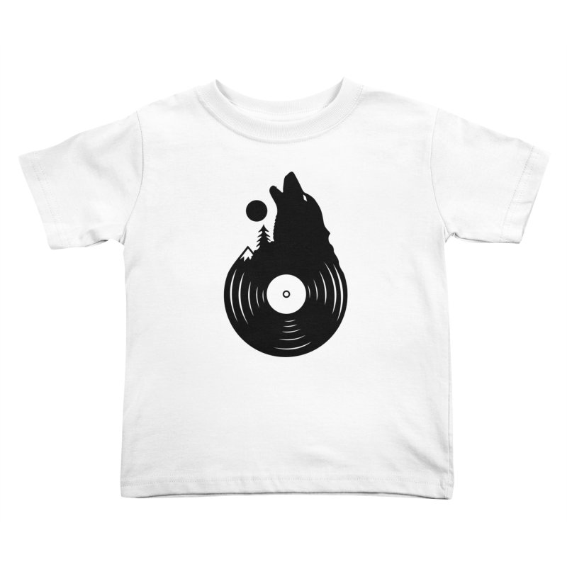 Nature on Vinyl Kids Toddler T-Shirt by Coffee Pine Studio
