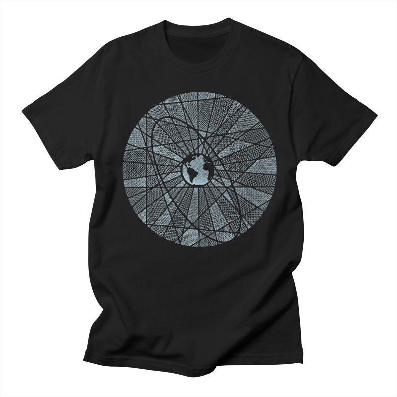 3rd Rock Men's T-Shirt by Coffee Pine Studio