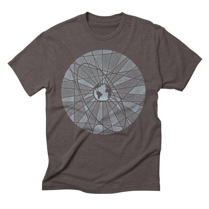 3rd Rock Men's Triblend T-Shirt by Coffee Pine Studio