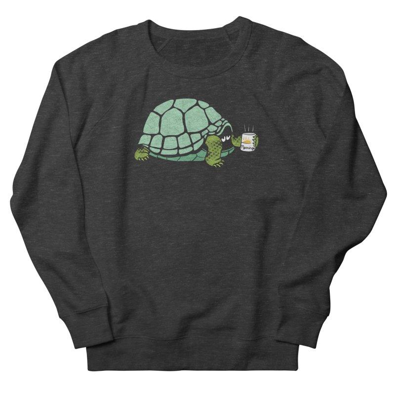 Mornings is Hard Women's French Terry Sweatshirt by Coffee Pine Studio