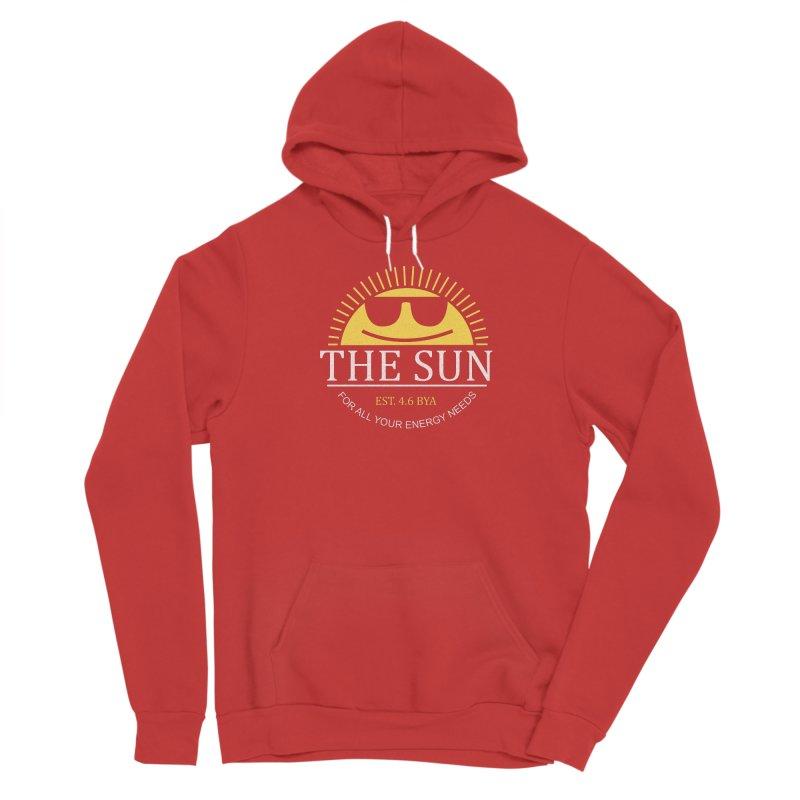 The Sun Men's Pullover Hoody by Coffee Pine Studio