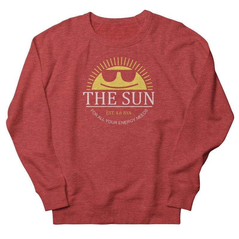 The Sun Women's French Terry Sweatshirt by Coffee Pine Studio