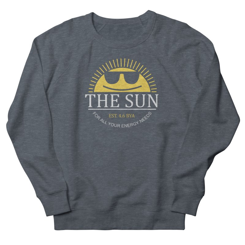 The Sun Men's French Terry Sweatshirt by Coffee Pine Studio