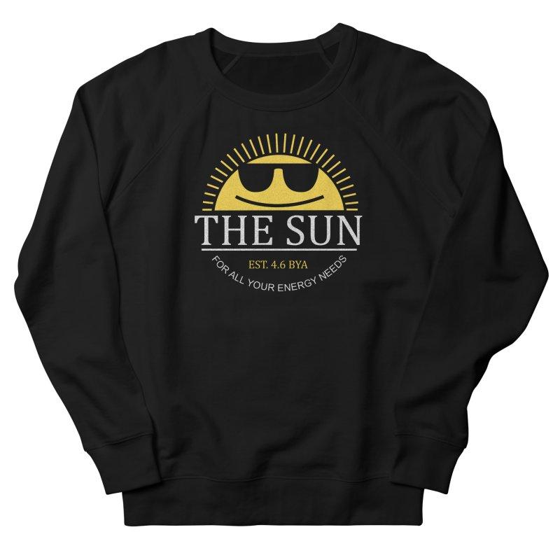 The Sun Men's French Terry Sweatshirt by Coffee Pine Studio