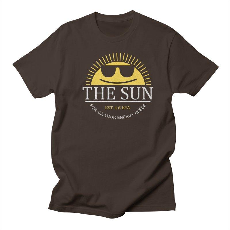 The Sun Men's Regular T-Shirt by Coffee Pine Studio