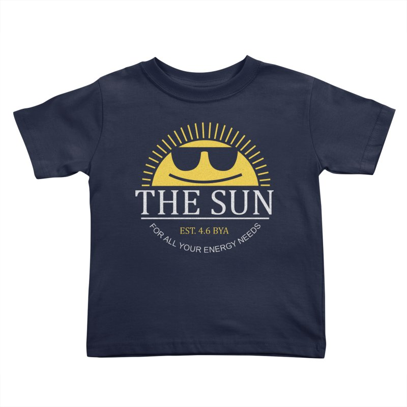 The Sun Kids Toddler T-Shirt by Coffee Pine Studio