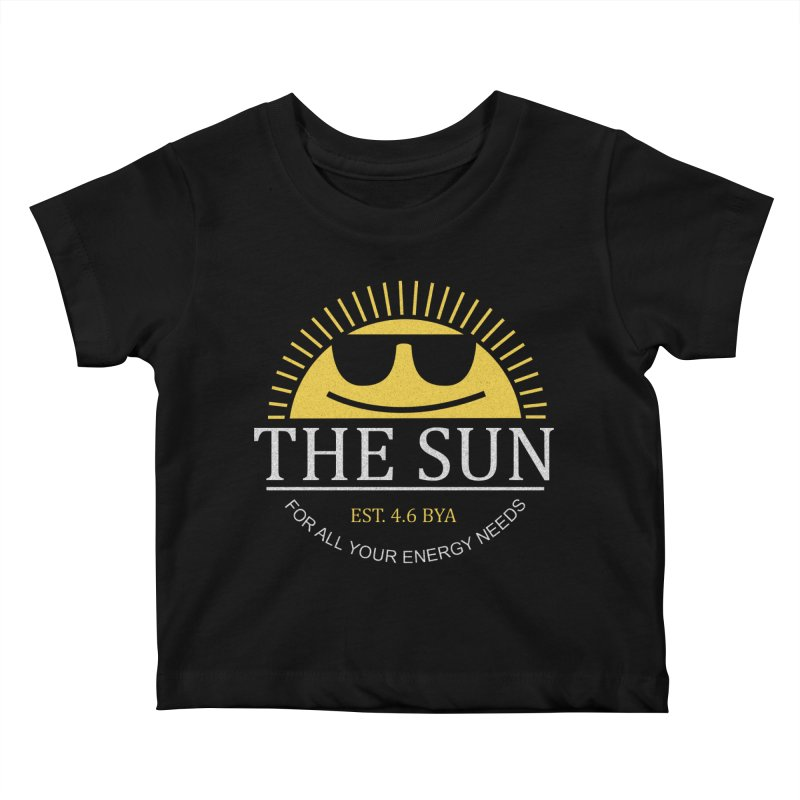 The Sun Kids Baby T-Shirt by Coffee Pine Studio
