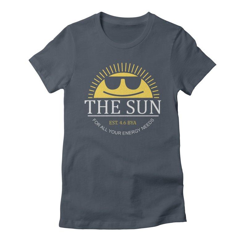 The Sun Women's T-Shirt by Coffee Pine Studio