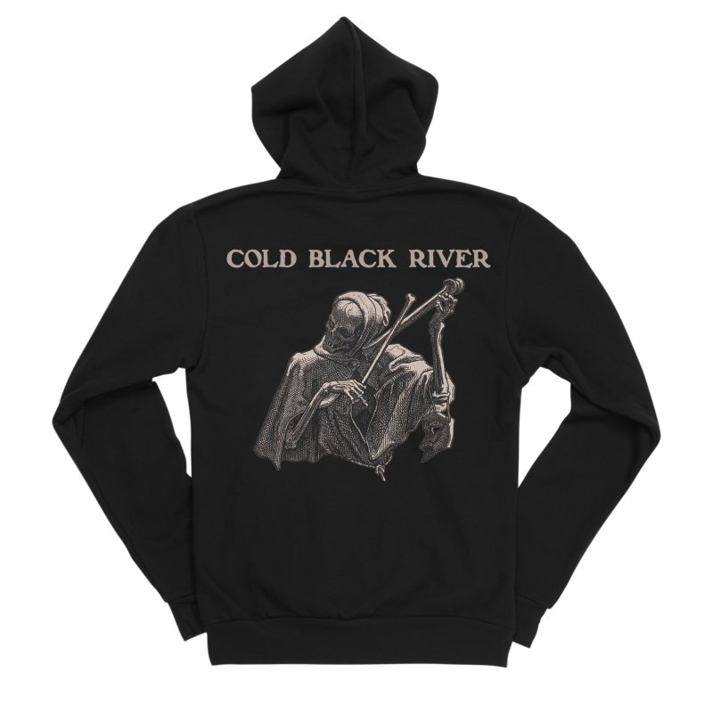 Tales of Death & The Devil Women's Zip-Up Hoody by COLD BLACK RIVER