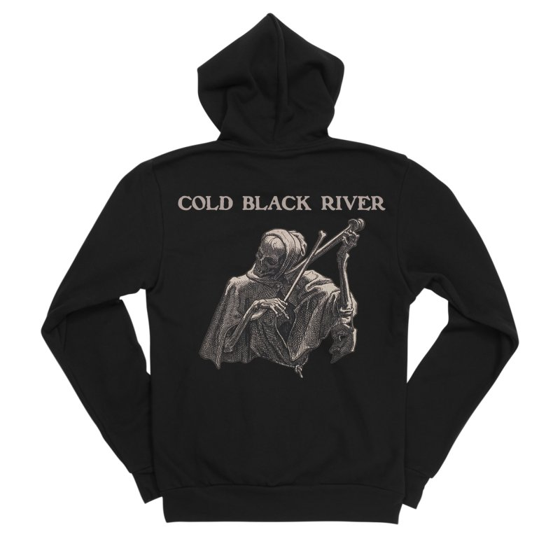 Tales of Death & The Devil Women's Sponge Fleece Zip-Up Hoody by COLD BLACK RIVER