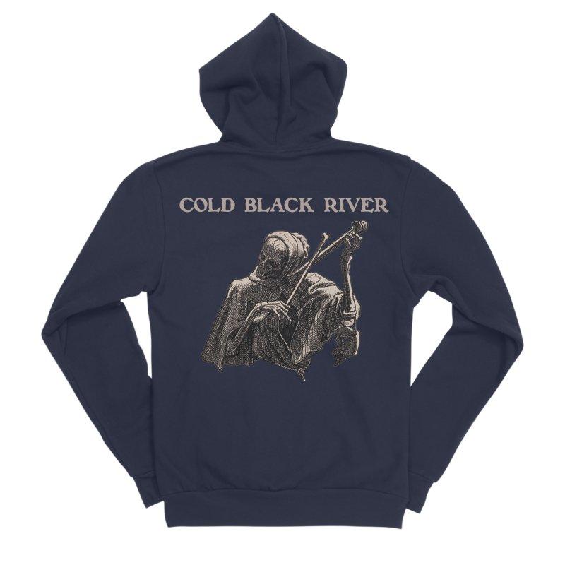 Tales of Death & The Devil Women's Sponge Fleece Zip-Up Hoody by COLD BLACK RIVER