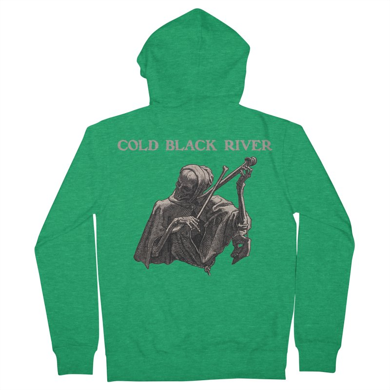 Tales of Death & The Devil Men's Zip-Up Hoody by COLD BLACK RIVER