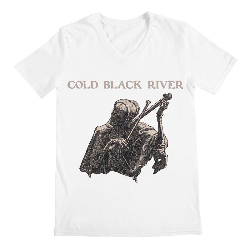 Tales of Death & The Devil Men's V-Neck by COLD BLACK RIVER