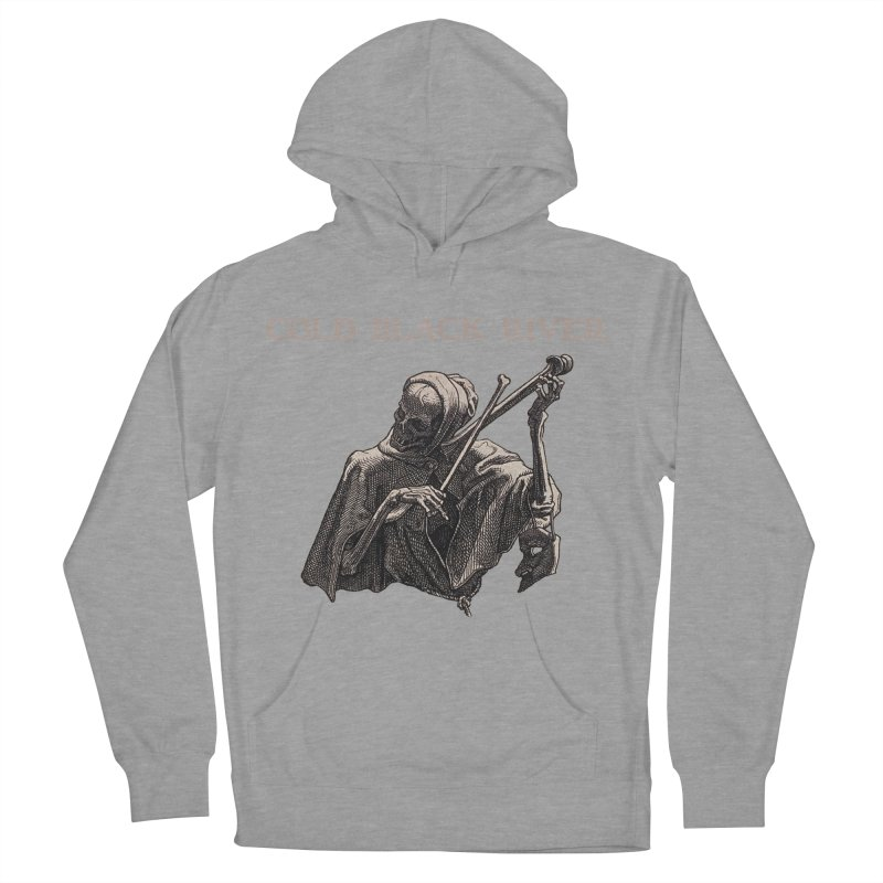 Tales of Death & The Devil Women's French Terry Pullover Hoody by COLD BLACK RIVER