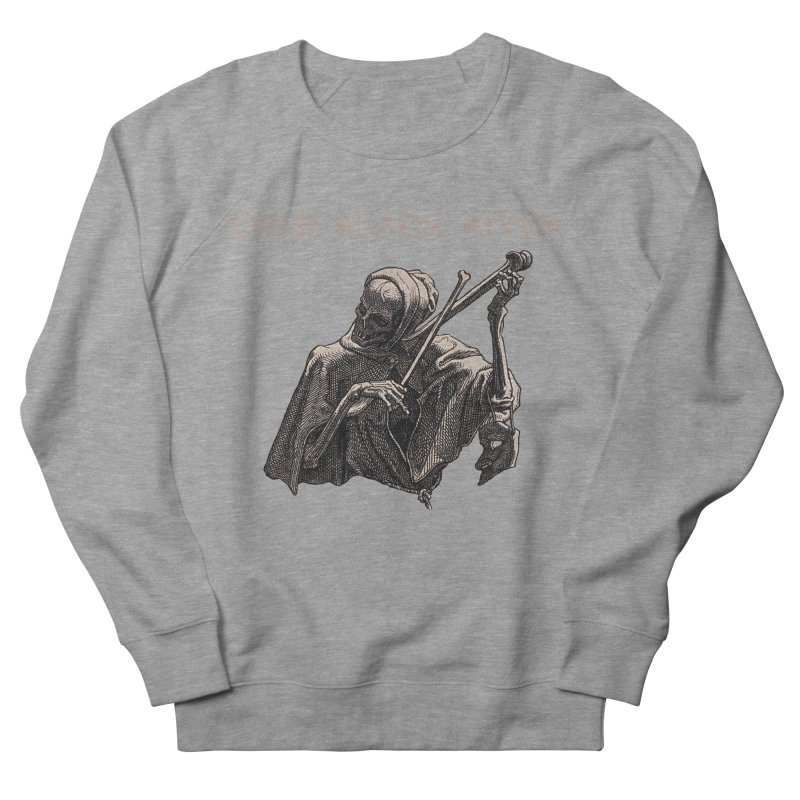 Tales of Death & The Devil Women's French Terry Sweatshirt by COLD BLACK RIVER