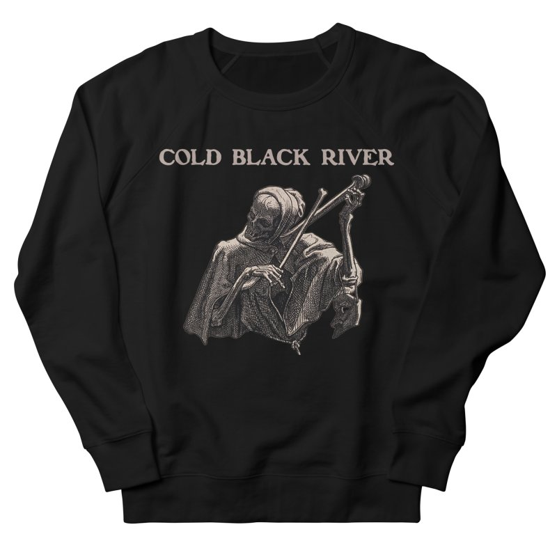Tales of Death & The Devil Men's French Terry Sweatshirt by COLD BLACK RIVER